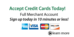 Accept Credit Cards Today